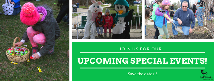 Upcoming Special Events >> Upcoming Spring Special Events Park District Of Franklin Park