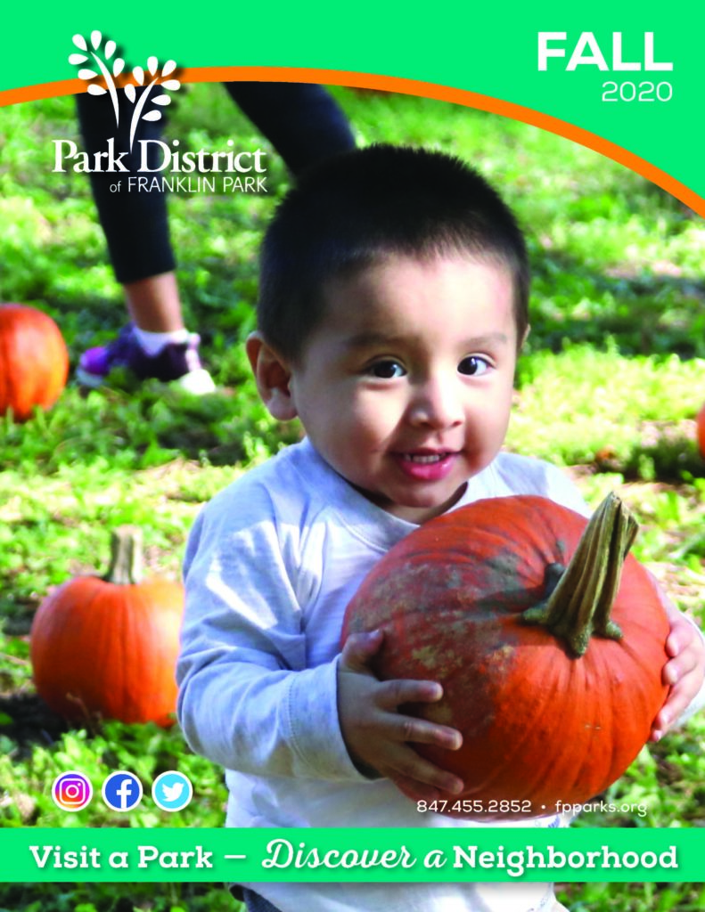 Cover of the Fall brochure