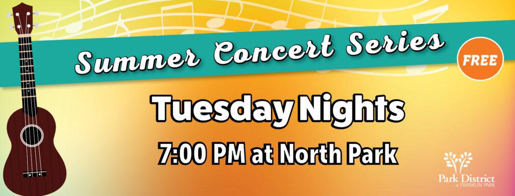 Summer Concert Series 2021 - Park District of Franklin Park